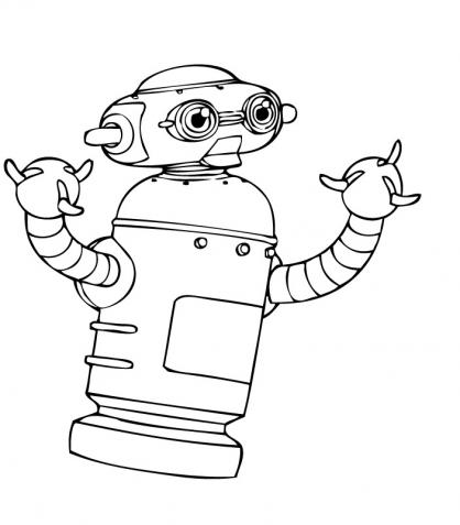 Coloriage Astro Boy 17