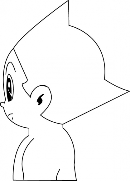 Coloriage Astro Boy 2
