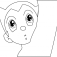 Coloriage Astro Boy 4