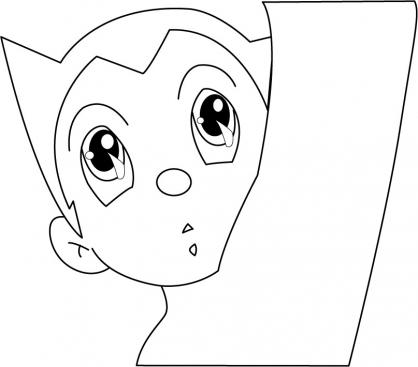 Coloriage Astro Boy 4