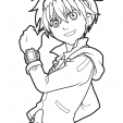 Coloriage Bakugan 1
