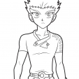 Coloriage Bakugan 14