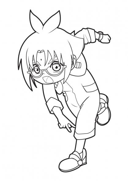 Coloriage Bakugan 16
