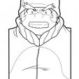 Coloriage Beyblade Benkei