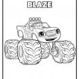 Coloriage Blaze