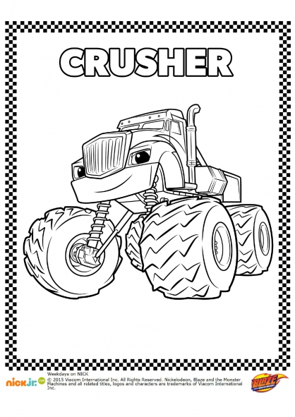 Coloriage Crusher