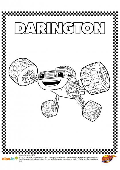 Coloriage Darington
