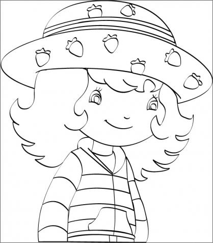 Coloriage charlotte aux fraises 2 coloriage charlotte - Charlotte aux fraises dessin ...