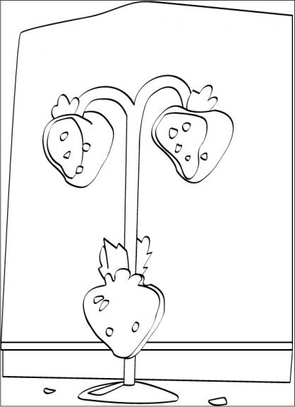 Coloriage charlotte aux fraises 4 coloriage charlotte - Charlotte aux fraises dessin ...