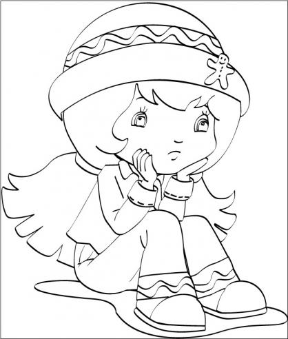 Coloriage charlotte aux fraises 45 coloriage charlotte - Charlotte aux fraises dessin ...