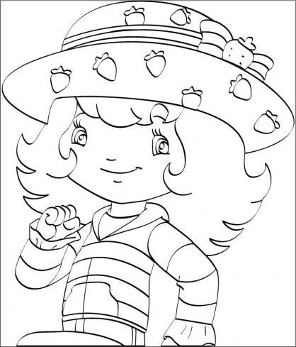Coloriage charlotte aux fraises 51 coloriage charlotte - Charlotte aux fraises dessin ...