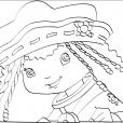 Coloriage Charlotte aux Fraises 85
