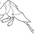 Coloriage Chasseur de dragons 10