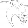 Coloriage Chasseur de dragons 12