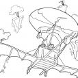 Coloriage Chasseur de dragons 5