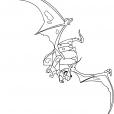 Coloriage Chasseur de dragons 9