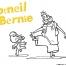 Coloriage Corneil et Bernie : dansent