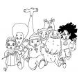 Coloriage Creepschool 5