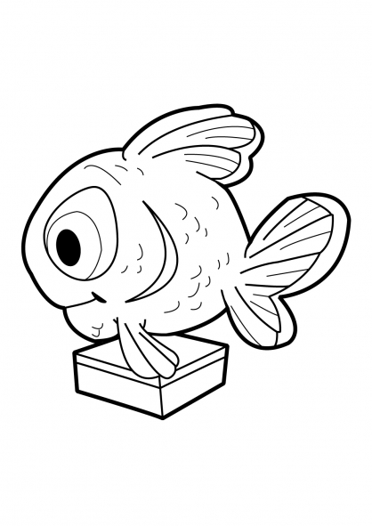 Coloriage Fish'n Chips 14