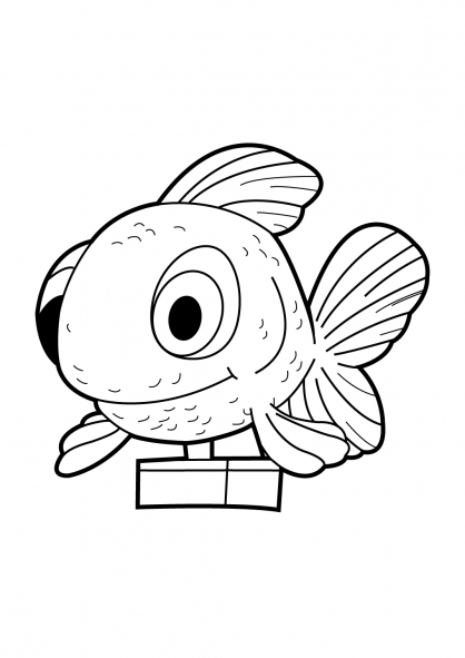 Coloriage Fish'n Chips 15