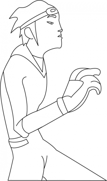 Coloriage Galactik Football 5