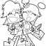 Coloriage Hi Hi Puffy Amy Yumi 17