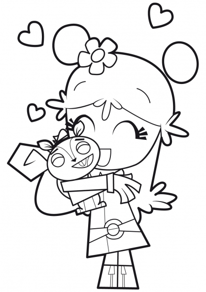 Coloriage Hi Hi Puffy Amy Yumi 18