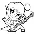 Coloriage Hi Hi Puffy Amy Yumi 6