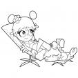 Coloriage Hi Hi Puffy Amy Yumi 7