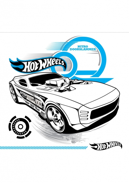 Coloriage nitro doorslammer coloriage hot wheels - Dessin hot wheels ...