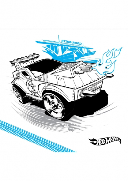 Coloriage sting rood coloriage hot wheels coloriage dessins animes - Coloriage hot wheels ...
