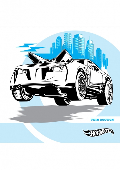 Coloriage twin duction coloriage hot wheels coloriage dessins animes - Coloriage hot wheels ...