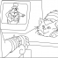 Coloriage Inspecteur gadget 19