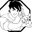 Coloriage Jackie Chan 2