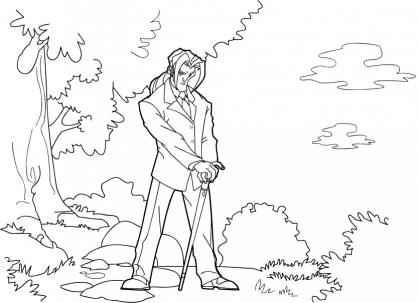 Coloriage Jackie Chan 26