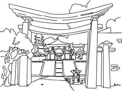 Coloriage Jackie Chan 27