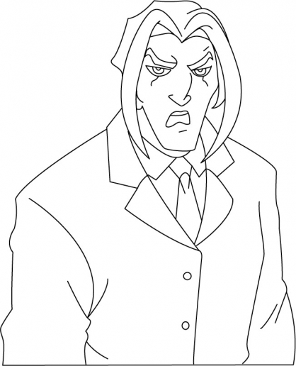 Coloriage Jackie Chan 37