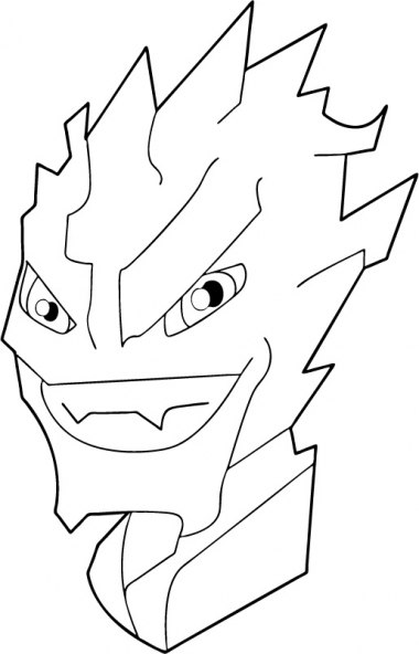 Coloriage Jackie Chan 8