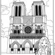 Coloriage Jeanne Poésie 3