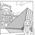 Coloriage Jeanne Poésie 6