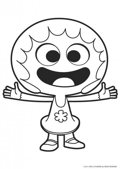 Coloriage jelly jamm 3 coloriage jelly jamm coloriage dessins animes - Gulli fr coloriage ...