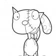 Coloriage Le chat de Frankenstein 6