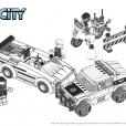 Coloriage LEGO City : L'arrestation