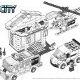 Coloriage LEGO City : Le cambriolage du musée
