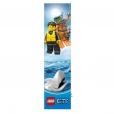 Coloriage LEGO City : Le marque-page garde-côtes
