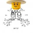 Coloriage LEGO City : Le ranger