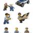 Coloriage LEGO City : Les personnages de la police