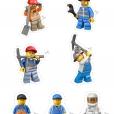Coloriage LEGO City : Les personnages de LEGO City
