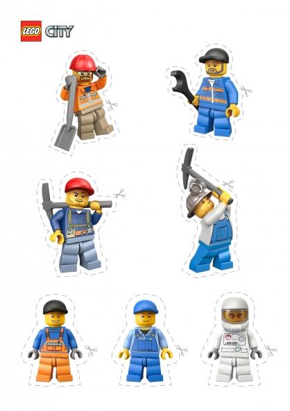 Coloriage lego city les personnages de lego city - Dessin de lego city ...