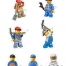 Coloriage LEGO City : Les personnages de LEGO City